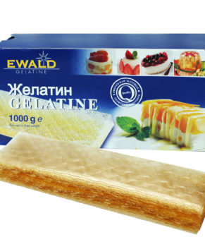 ЖЕЛАТИН ЛИСТОВОЙ EWALD, 10 ПЛАСТИН