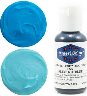 Краситель гелевый AMERICOLOR ELECTRIC BLUE 21гр