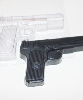 Пластиковая форма для шоколада, Пистолет