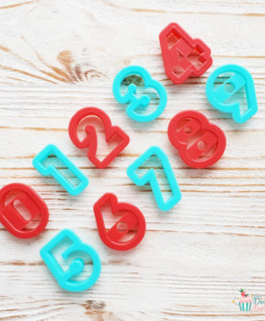 Набор форм для вырезания печенья Цифры