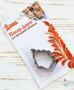 Набор форм для вырезания печенья Пироженка