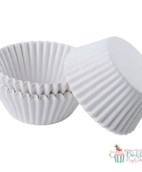 Капсулы бумажные для конфет белые 35*20мм, 50шт