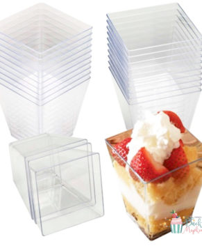Стаканчик для трайфлов и десертов 90мл /6штук