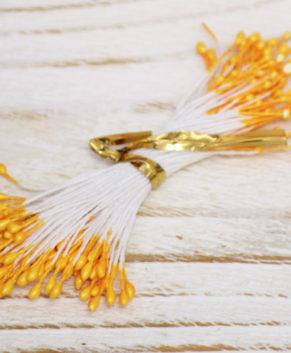 Тычинки для сахарных цветов, желтые