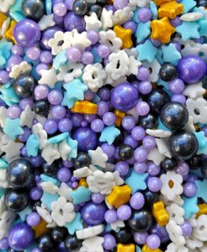 Посыпка кондитерская Фиолетовое мерцание, 50гр