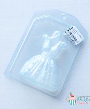 Пластиковая форма для шоколада, Платье