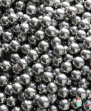 Посыпка кондитерская Шарики серебро 7 мм, 25 гр
