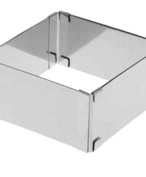 Форма квадратная разъемная 16-30см, H12см