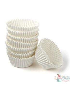 Капсулы бумажные белые 50х35мм, 50шт