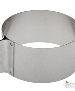 Форма круглая разъемная 16-30см H 8см