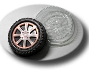 Пластиковая форма для шоколада Колесо