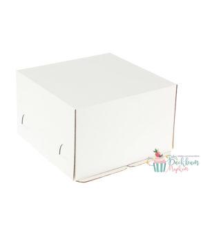 Коробка для торта 24х24х18см Хром-Эрзац