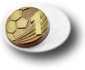 Пластиковая форма для шоколада, Медаль лучший футболист