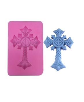 Молд силиконовый Крест