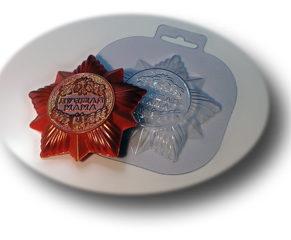 Пластиковая форма для шоколада, Орден