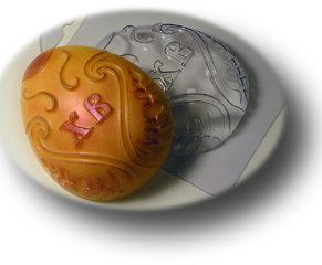 Пластиковая формочка для шоколада, Пасхальное яйцо