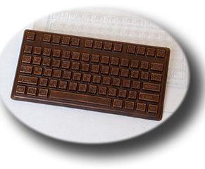 Пластиковая форма для шоколада, Плитка Клавиатура