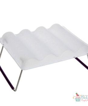 Подставка для сушки украшений из мастики волнообразная