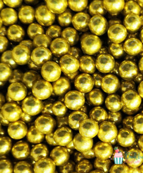 Посыпка кондитерская Шарики золотые 7 мм, 25 гр