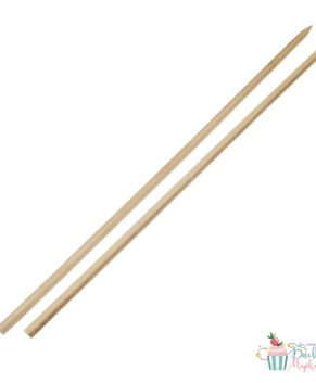 Деревянные стержни для многоярусных тортов 40см, 5шт