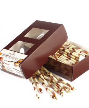 Шоколадные Мраморные палочки Barry Callebaut, 150 гр
