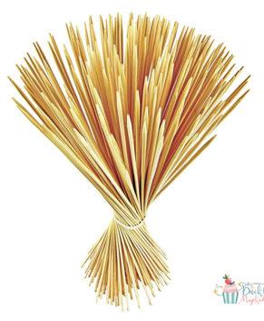 Деревянные шпажки для пряников 25см, 50шт
