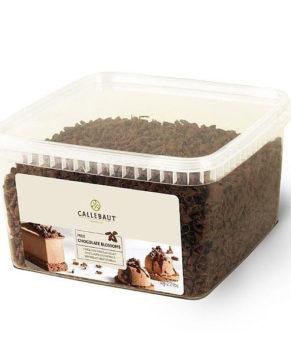 Шоколадная стружка 54.5% Каллебаут темный шок., 40гр