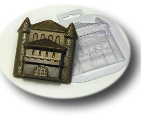 Пластиковая формочка для шоколада, Замок