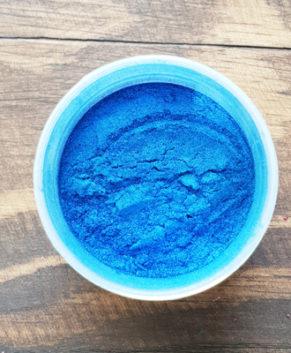 Краситель сухой перламутровый Синий блеск, 5гр