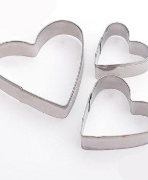 Набор форм для вырезания печенья «Сердечко»