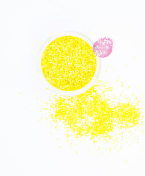 Пищевые блестки Sweety Kit Жёлтый, 5 гр