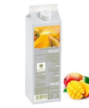 Фруктовое пюре Ravifruit Манго 1 кг (пастеризованное)