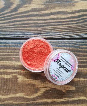 Краситель пыльца цветочная Персик, 4 гр