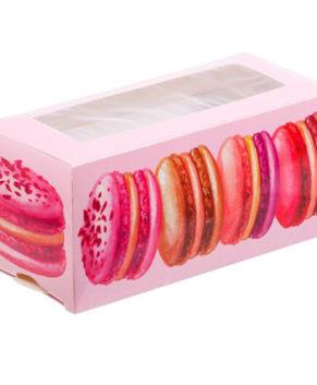 Коробка для макарун 12х5,5х5,5см Макаруны