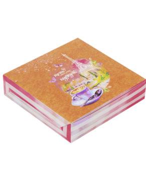 Коробка для сладостей 14х14х3,5 см, И пусть весь мир подождет
