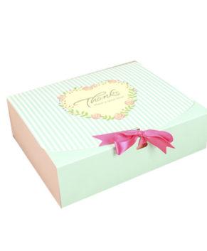 Коробка для пирожных и печенья 23х11,5х5 см, с ленточкой