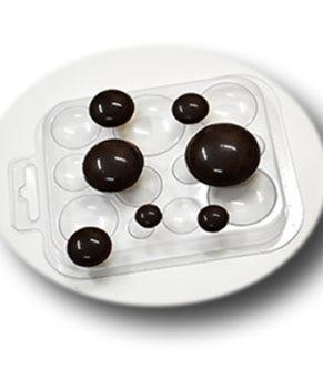 Пластиковая форма для шоколада, Шоко-круги