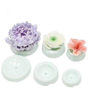 Набор форм для сушки цветов из мастики, 6 шт