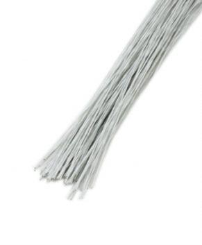 Проволока белая, D 0,45мм(№26),10 штук