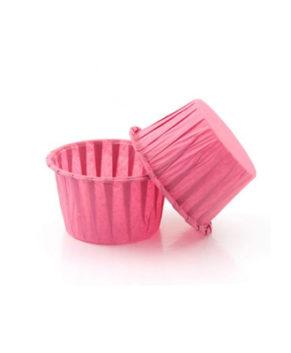 Капсулы бумажные усиленные розовые 50*40мм, 20шт
