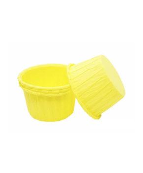 Капсулы бумажные усиленные желтые 50*40мм, 20шт