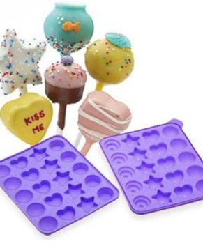 Форма силиконовая для кейкпопсов и леденцов