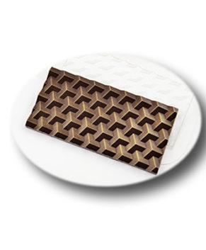 Пластиковая форма для шоколада, Плитка Кубики Экстра