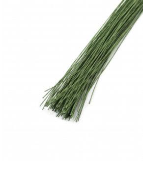 Проволока тёмно-зелёная, D=0,9мм(№20),10 штук
