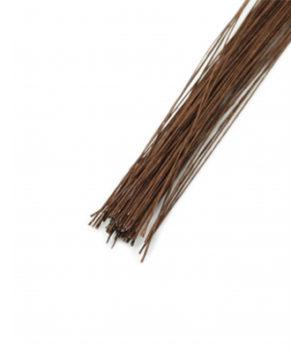Проволока коричневая, D=0,35мм(№28),10 штук
