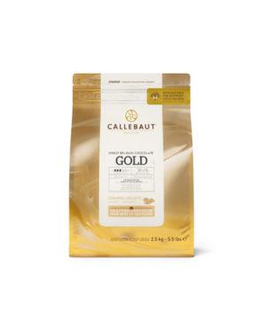 Шоколад Barry Callebaut Белый с карамелью (30,4% какао)