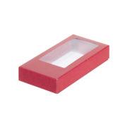 коробка для шоколада красная