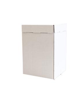 Коробка для торта 30х30х45см, белая