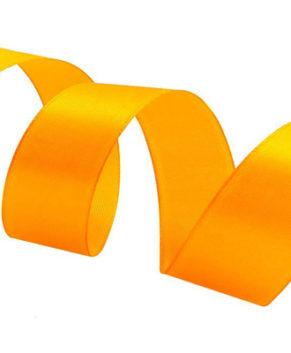 Лента атласная Оранжевая