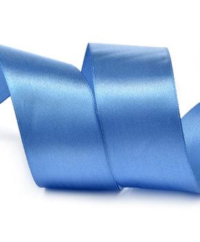 Лента атласная Ярко-голубая